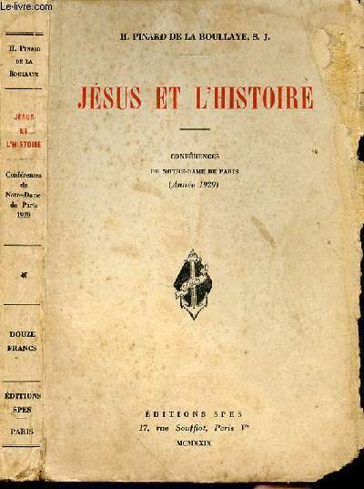 JESUS ET L'HISTOIRE