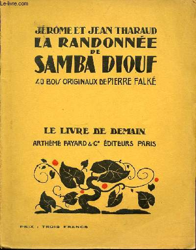 LA RANDONNEE DE SAMBA DIOUF - 40 BOIS ORIGINAUX DE PIERRE FALKE