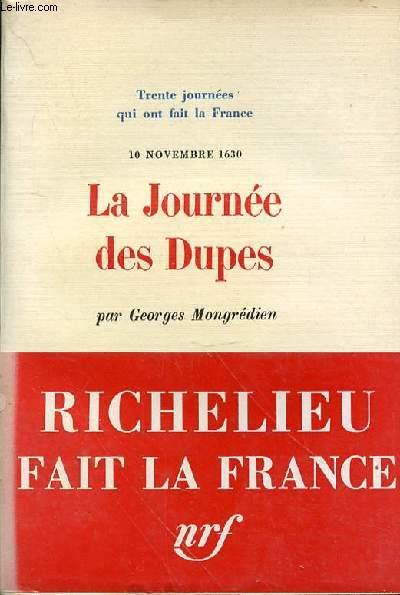 LA JOURNEE DES DUPES N°14 - 10 NOVEMBRE 1630