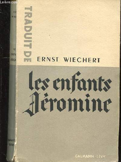 LES ENFANTS JEROMINE - TOME 1