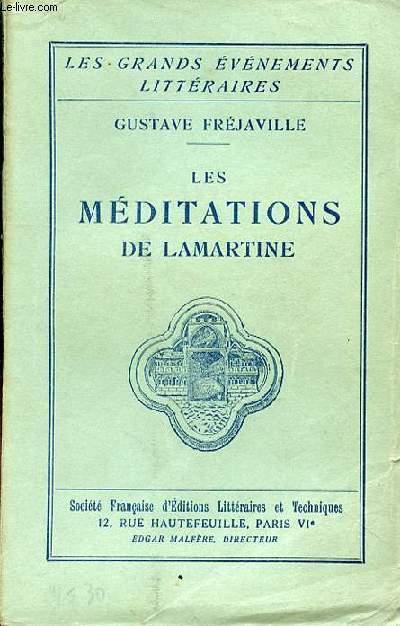 LES MEDITATIONS DE LAMARTINE