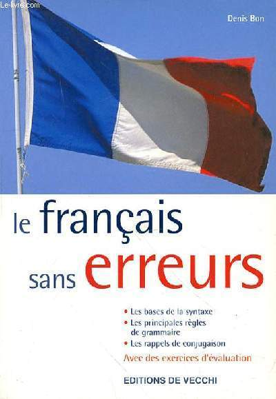 LE FRANCAIS SANS ERREURS