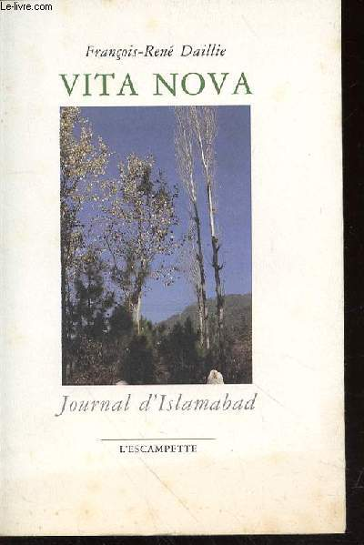 VITA NOVA - JOURNAL D'ISLAMABAD