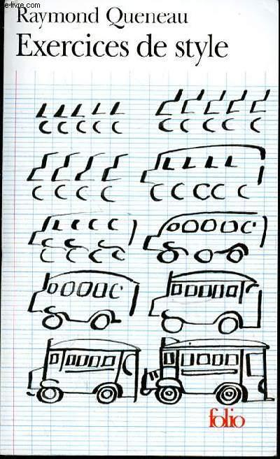 Exercices De Style De Queneau Raymond Achat Livres Ref Rod0132917 Le Livre Fr