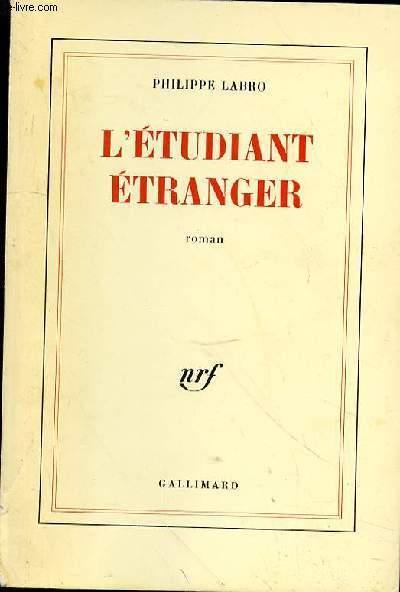 L'ETUDIANT ETRANGER