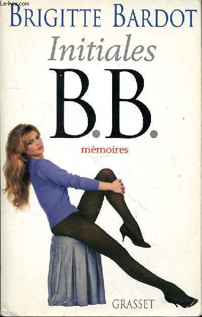 INITIALES B.B MEMOIRES