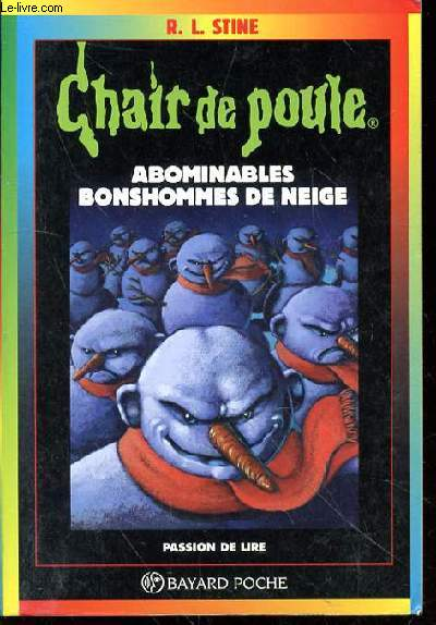 Chair De Poule Abobinables Bonshommes De Neige