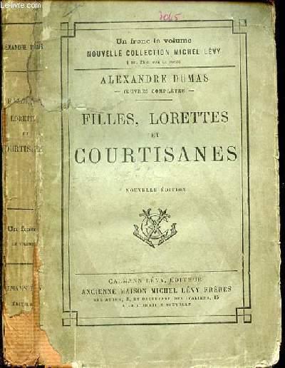 FILLES LORETTES ET COURTISANES
