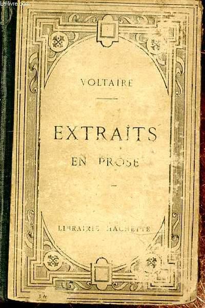 EXTRAITS EN PROSE