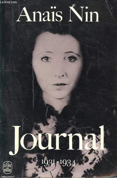 JOURNAL 1931-1934