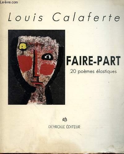FAIRE-PART - 20 POEMES ELASTIQUES