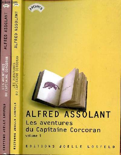 LES AVENTURES DU CAPITAINE CORDCORAN - VOLUME 1 ET 2