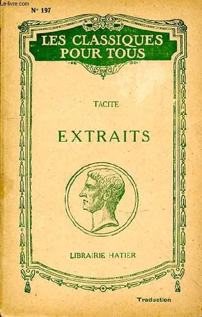 EXTRAITS N°197