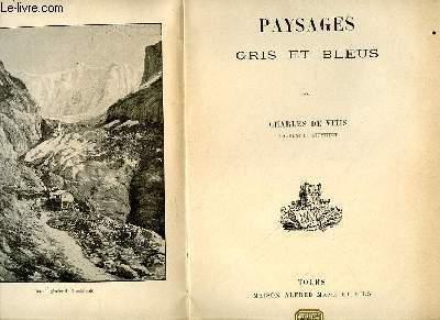 PAYSAGES GRIS ET BLEUS