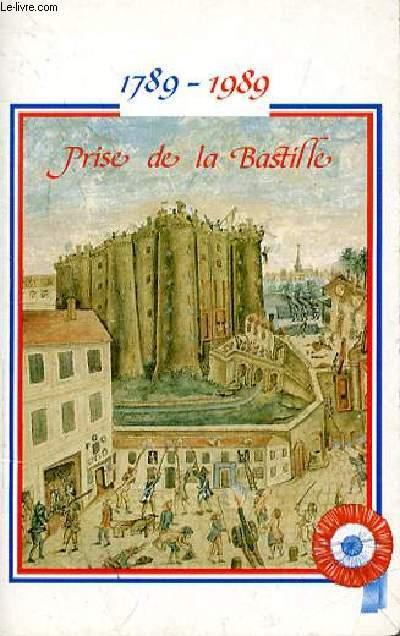 1789-1989 PRISE DE LA BASTILLE  - CARNET POUR NOTES