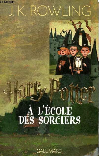 HARRY POTTER A L'ECOLE DES SORCIERS