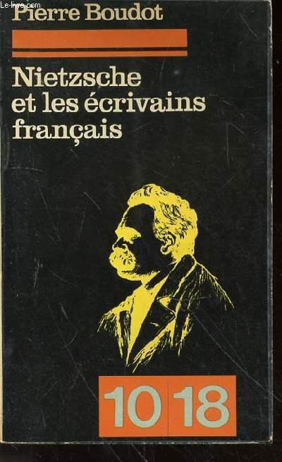 NIETZSCHE ET LES ECRIVAINS FRANCAIS N°937