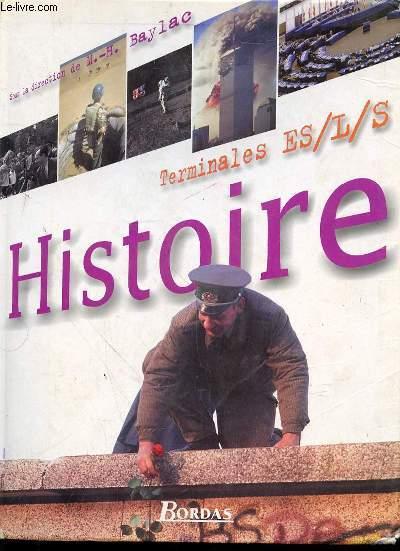 HISTOIRE TERMINALES ES/L/S