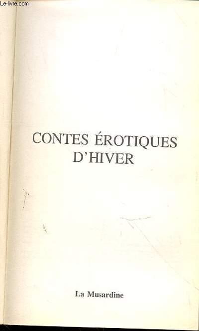 CONTES EROTIQUES D'HIVER