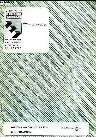 HISTOIRE - GEOGRAPHIE ESEU - REF : B6402T01 262