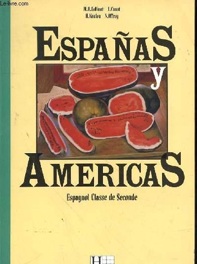 Espanas Y Americas Espagnol Classe De Seconde Specimen