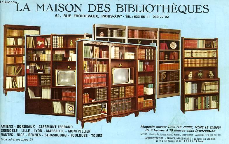 la maison de la bibliotheque ventana blog. Black Bedroom Furniture Sets. Home Design Ideas
