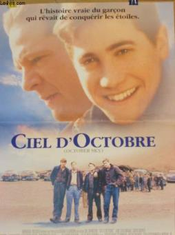 Affiche de cinema - ciel d octobre - october sky