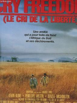 Affiche de cinema - cry freedom