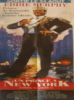 Affiche de cinema - un prince a new york