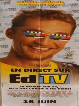 Affiche de cinema - en direct sur ed tv