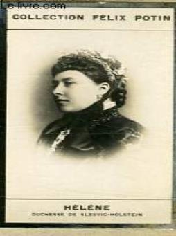 Photo ancienne helene  duchesse de  slesvig- holstein