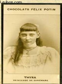 Photo ancienne thyra princesse de danemark