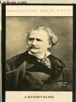 Photo ancienne lafontaine artiste lyrique et dramatique de france