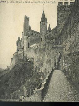 Carte postale - carcassonne la cite