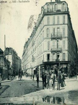 Carte postale - 435 - paris - place rambouillet