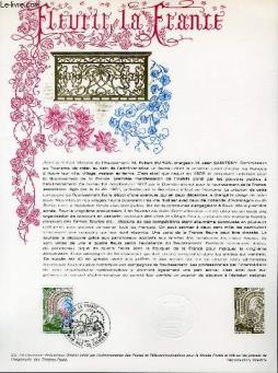 Document philatelique officiel n°22-78 - fleurie la france (n°2006 yvert et tellier)
