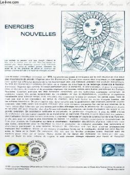 Document philatelique officiel n°10-81 - energies nouvelles (n°2128 yvert et tellier)