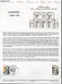 Document philatelique officiel n°13-83 - gabriel 1698-1782 (n°2280 yvert et tellier)