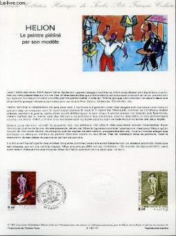 Document philatelique officiel n°41-84 - helion - le peintre pietine par son modele (n°2343 yvert et tellier)
