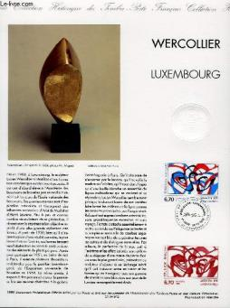 Document philatelique officiel - wercollier - luxembourg (n°2986 yvert et tellier)