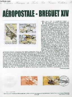 Document philatelique officiel - aeropostale - breguet 15  (av.61 yvert et tellier)