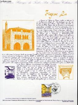Document philatelique officiel - figeac lot (n°3256 yvert et tellier)