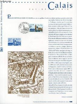 Document philatelique officiel - calais - pas de calais (n°3401 yvert et tellier)