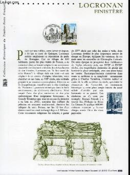 Document philatelique officiel - locronan finistere (n°3499 yvert et tellier)