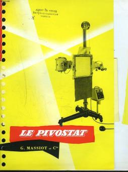 Catalogue le pivostat. (radiographie) g. massiot & cie.
