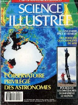 Science illustree - l art de maintenir ses distances - n°2 - fevrier 199.