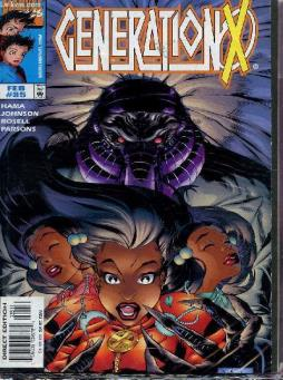 Marvel comics - generation x - fevrier 1998 - n°35.