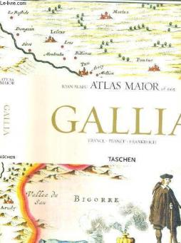 Atlas maior of 1665 - gallia - france