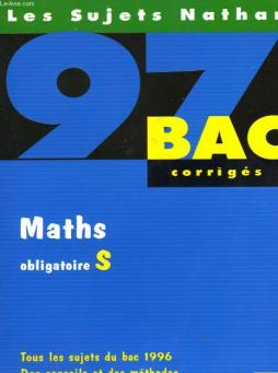Bac corriges - 97 - maths s