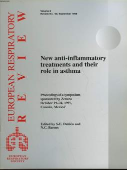 Eurpean respiratory review - volume 8 - n° 60 - new anti-inflammatory treatments and their role in asthma